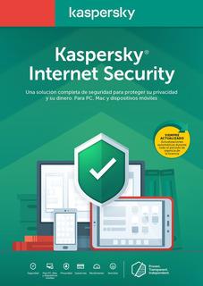 Licencia Internet Security Kaspersky 1 Dispositivo 1 Año Dig