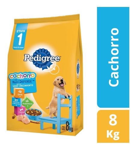 Imagen 1 de 2 de Pedigree Perro Cachorro 8 Kg Con Snacks