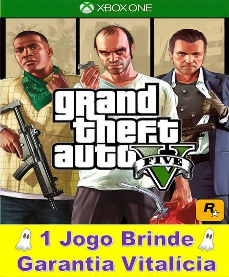 Gta 5 Xbox One Mídia Digital - Garantia Vitalícia