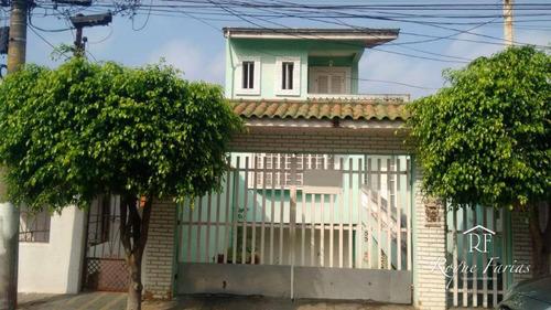 Sobrado Com 3 Dormitórios À Venda, 400 M² Por R$ 1.200.000,00 - Jaguaré - São Paulo/sp - So0688