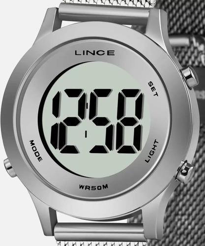 Imagem 1 de 9 de Relógio Feminino Digital Lince Sdph111l Bxsx