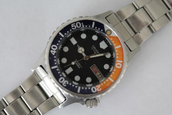 Relógio Orient Tubarão Scuba Diver Antigo Rsc132