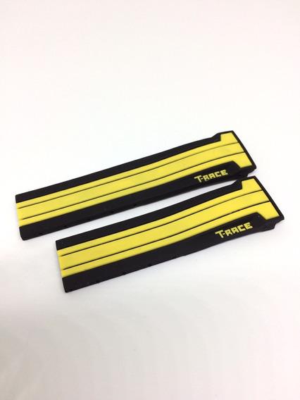 Pulseira Tissot Motogp T-race/preta E Amarela