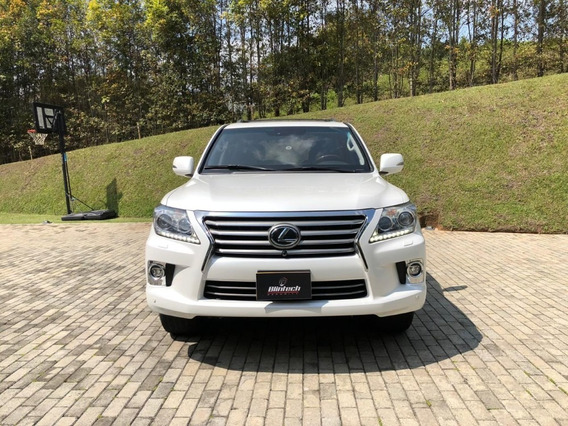 Lexus Lx 570 Blindada 5.7 At 4x4 Blanco Perlado 2014