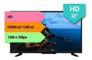 Televisor Led 32 Pulgadas Smart Tv Hd Youtube Netflix Hdmi