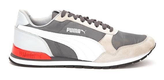 Zapatillas Puma St Runner V2 Nl Gri/bla De Hombre