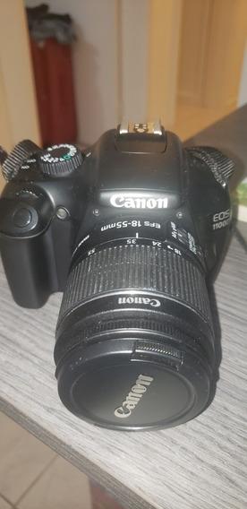 Câmera Canon Rebel Eos 1100d T3 Poucos Cliques