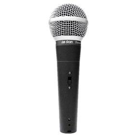 Microfone Com Fio Vocal Ls 58 Dinamico - Leson