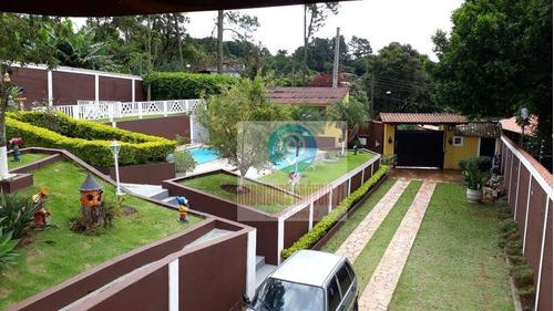 Imagem 1 de 30 de Ótima Chácara À Venda, 1000 M² Por R$ 850.000 - Terra Preta - Mairiporã/sp - Ch0005