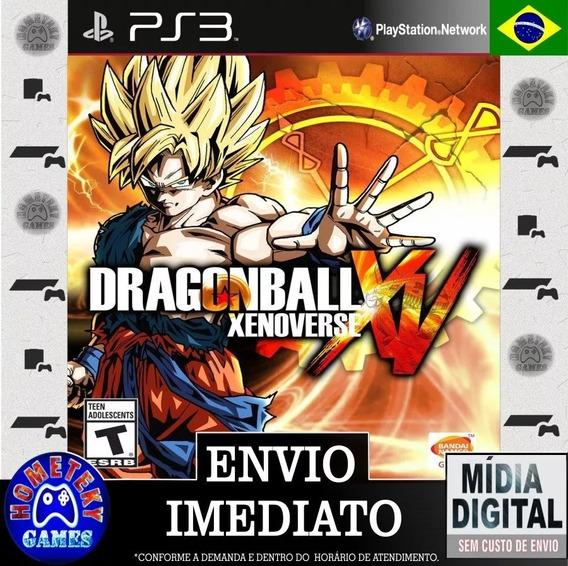 Dragon Ball Xenoverse - Psn Ps3 Pronta Entrega Leg. Pt Br