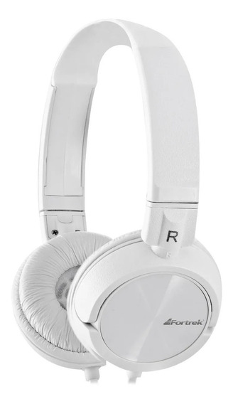 Fone De Ouvido Headphone Fortrek Hpf501 Branco