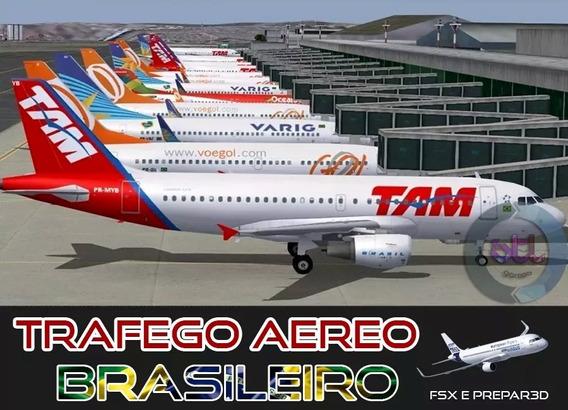 Tráfego Aéreo Brasileiro Completo Fsx E Prepar3d