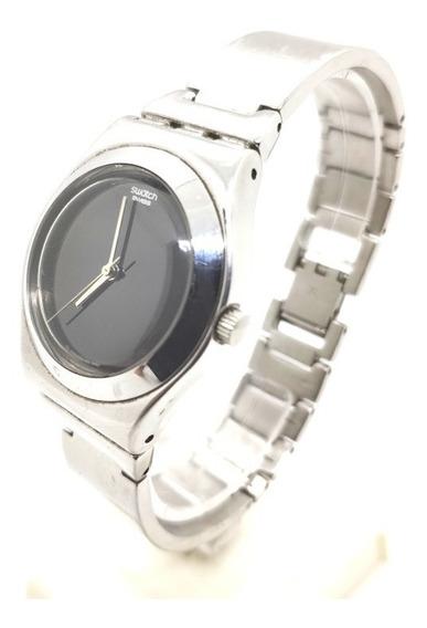 Relógio De Pulso Unissex Swatch Irony Aço Inoxidável