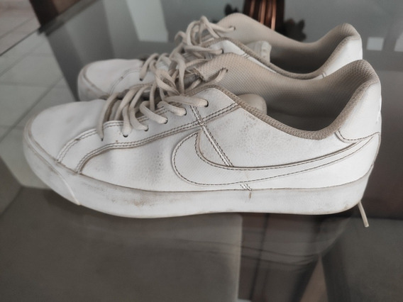 Tênis Nike Royal Branco Semi Novo