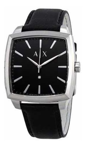 Relógio Armani Exchange Ax2362. Diamond Collection. Couro
