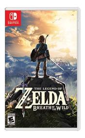 Jogo Nintendo The Legend Zelda Breath Wild Switch Lacrado