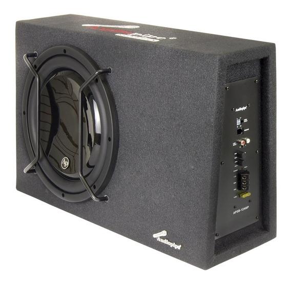Sgm1 Audiopipe Caja Amplificada Slim 12 Apsb 12amp 600w