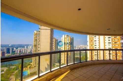 Apartamento Com 3 Dormitórios À Venda, 160 M² Por R$ 1.385.000,00 - Panamby - São Paulo/sp - Ap7980