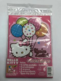 Tarjetas De Invitacion De Hello Kitty En Mercado Libre Venezuela