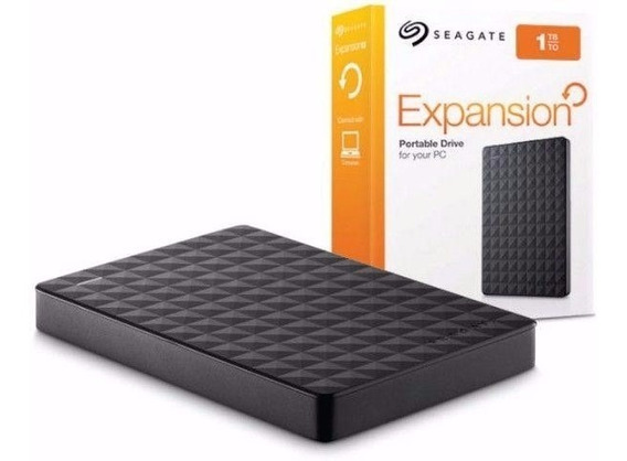 Hd Externo 1tb Seagate Expansion 1000gb Portatil Stea1000400