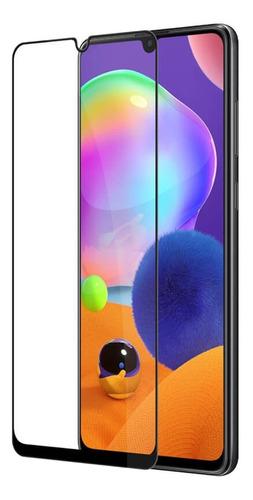 Vidrio Templado Samsung A31 Protector Full Cover Glue 9d