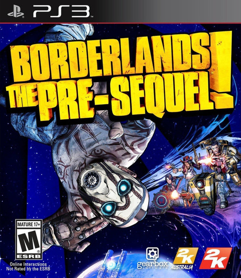 Borderlands: The Pre-sequel! - Ps 3 - Mídia Física - Lacrado