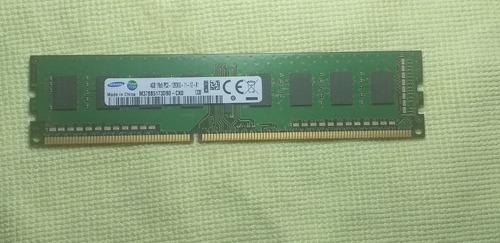 Imagem 1 de 2 de Memória Samsung Pc3-12800u 4gb 1rx8