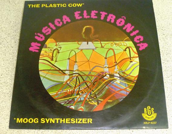 Lp The Plastic Cow Moog Synthesizer Musica Eletrônica - Rge