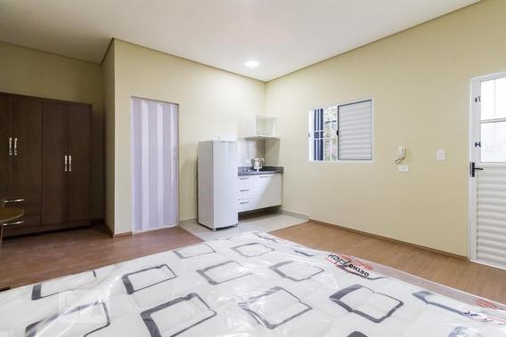 Studio No 2º Andar Mobiliado Com 1 Dormitório - Id: 892946276 - 246276