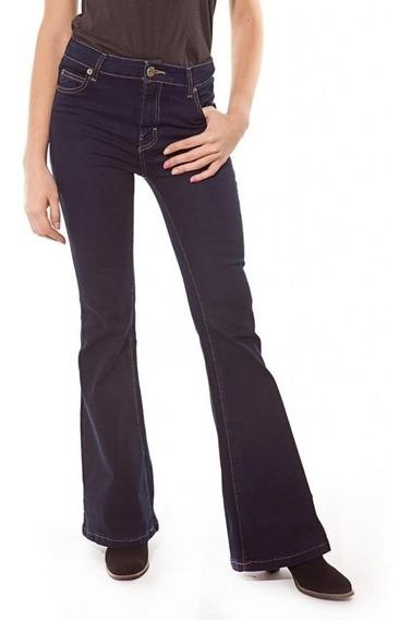 Maria Cher Pantalon Oxford Medio Jim Azul Nueva Coleccion