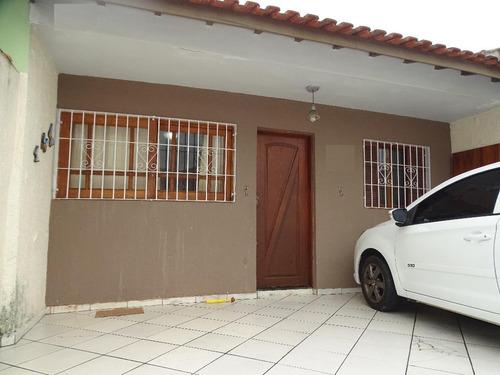 Casa Residencial À Venda, Centro, Mongaguá. 100 Metros Da Praia!! - Ca0649