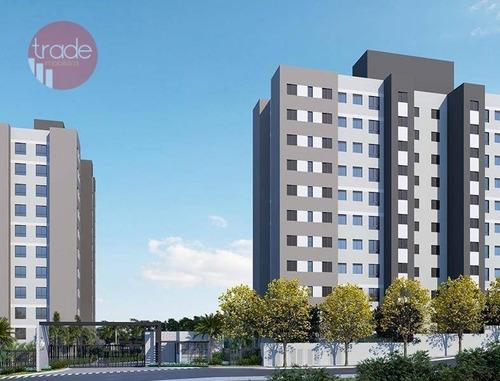 Apartamento Com 2 Dormitórios À Venda, 46 M² Por R$ 194.000,00 - Vila Virgínia - Ribeirão Preto/sp - Ap6783