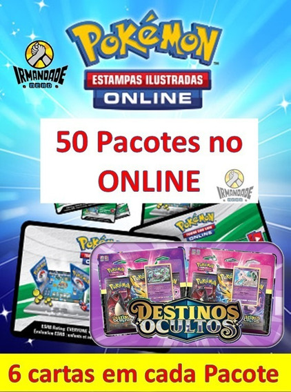 50 Códigos Online Boosters - Destinos Ocultos Tcgo
