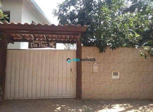 Imagem 1 de 11 de Chácara Com 2 Dormitórios À Venda, 1500 M² Por R$ 350.000,00 - Chácara Leandro - Campinas/sp - Ch0048
