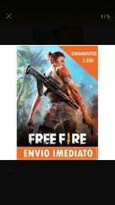 Diamantes Free Fire, Envio Imediato!