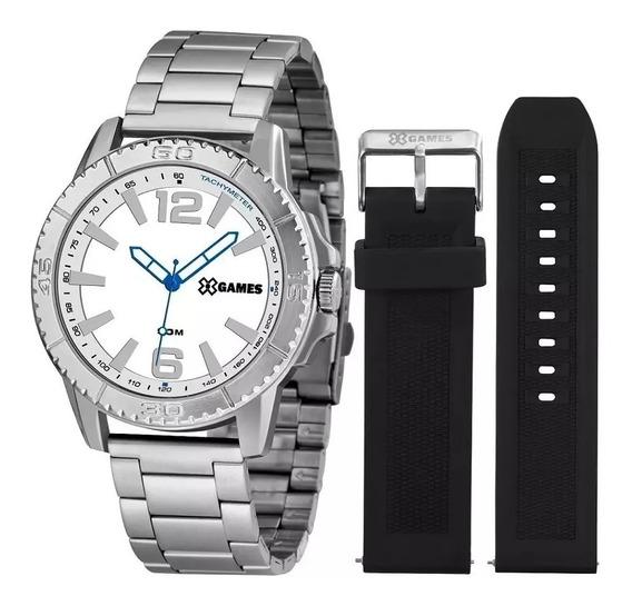 Relógio X-games Masculino Xmls0001 B2sx ( Troca Pulseira)