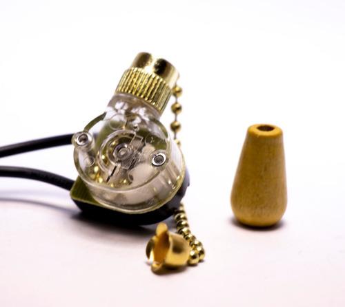 Llave, Interruptor, Switch, P/ Luces De Ventilador De Techo