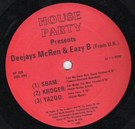 House Party Vinilo Variado Internacional Remixes Originales