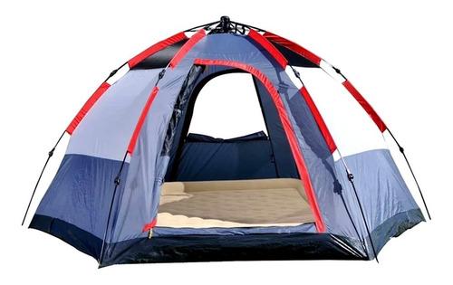 Barraca De Camping Spider Para Até 5 Pessoas Automática Mor