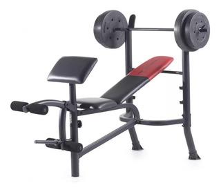 Banco Supino Abdominais Pro 265 Ots Weider Musculação