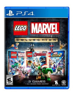 Lego Marvel Collection Ps4 - Prophone