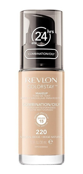 Base Líquida Colorstay Pump Oily Skin Natural Beige 220 30ml