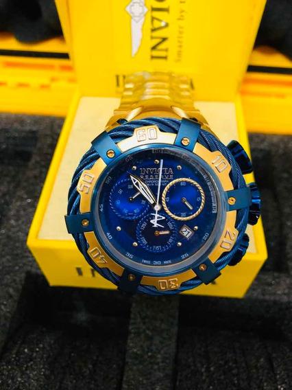 Invicta Thunderbolt Azul 21361 + Estojo Invicta
