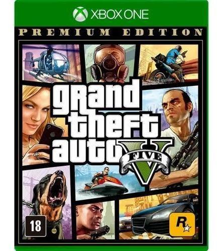 Gta 5 - Xbox One - Novo - Lacrado