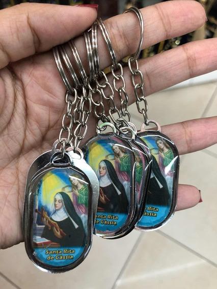 3 Duzias Chaveiro De Santa Rita De Cassia