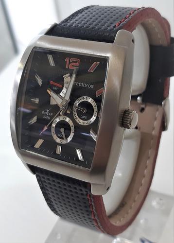 Relógio Technos Vx3tae Usado Revisado Vidro E Pulseira Novos