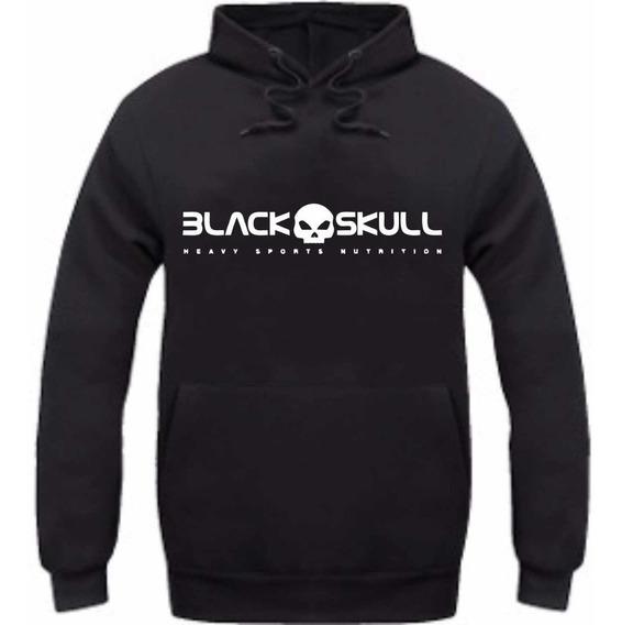 Kit 20 Blusa De Frio Black Skull Musculação Moletom Promoção