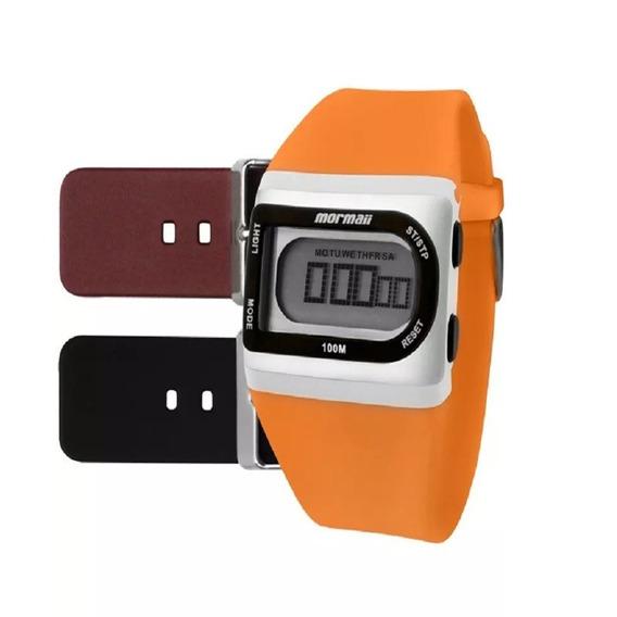Relógio Mormaii Unissex Fzg/8e C/ Garantia E Nf