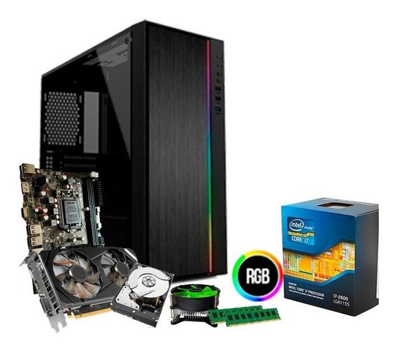 Pc Gamer I7, 16gb, Hd 1tb, Geforce 6gb 1660 Gtx + Nfe