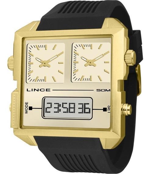 Relógio Lince Masculino Original Garantia Nota Map4587sc1px